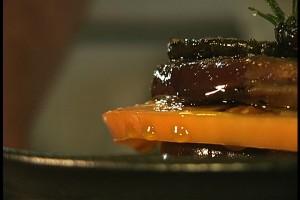 Grilled Eggplant Napoleon
