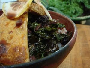 Japanese Braised Kale
